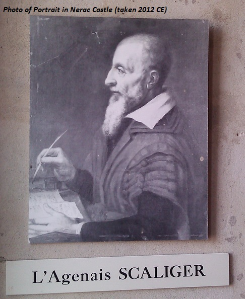 Jules Scaliger physician to Nerac Court